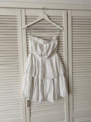Nakd Bustier Dress white