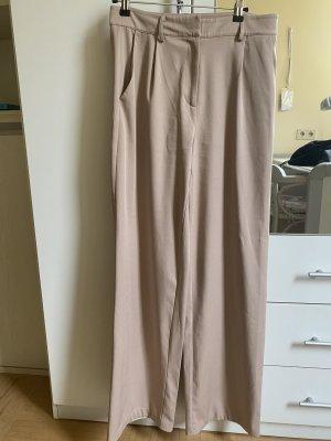 Nakd Pantalón de cintura alta color rosa dorado