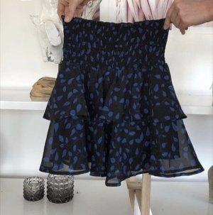 Nakd Flared Skirt black-dark blue