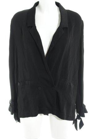 Nakd Blusenjacke schwarz schlichter Stil