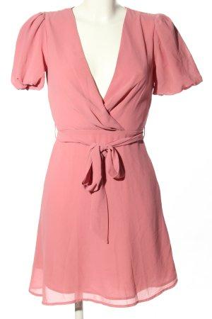 Nakd Vestido camisero rosa elegante