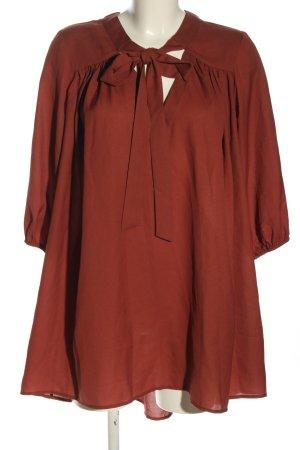 Nakd Vestido camisero rojo elegante