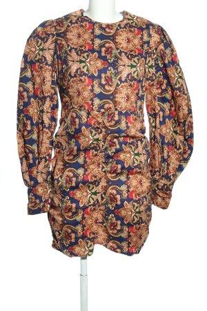 Nakd Blusenkleid abstraktes Muster Casual-Look