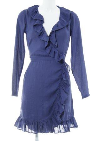 Nakd Blusenkleid blauviolett Casual-Look