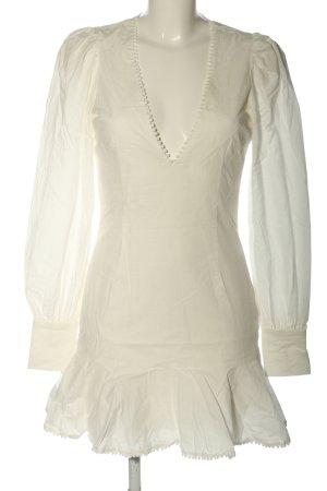 Nakd Vestido camisero blanco puro look casual