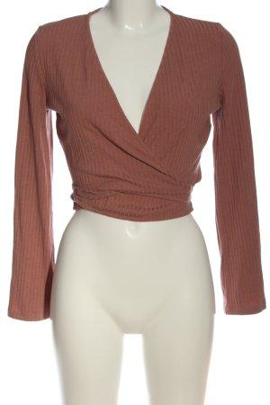 Nakd Maglietta aderente marrone stile casual