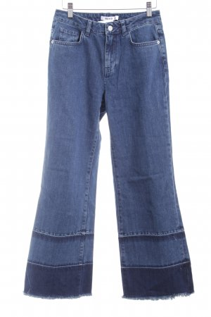 Nakd Boot Cut Jeans blau Casual-Look
