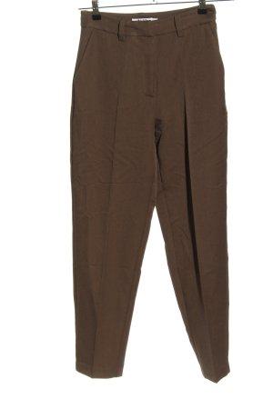 Nakd Pantalón de pinza marrón look casual