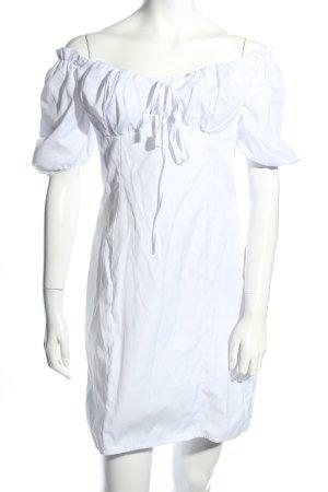 Nakd Bustier Dress white casual look