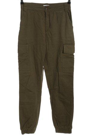 Nakd Pantalon cargo kaki style décontracté