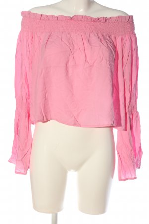 Nakd Carmen-Bluse pink Casual-Look