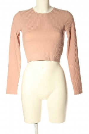Nakd Cropped Shirt nude casual look