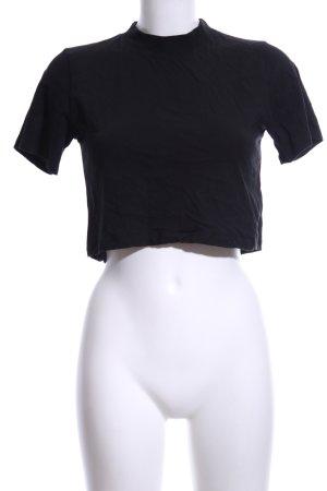 Nakd Cropped Shirt schwarz Casual-Look