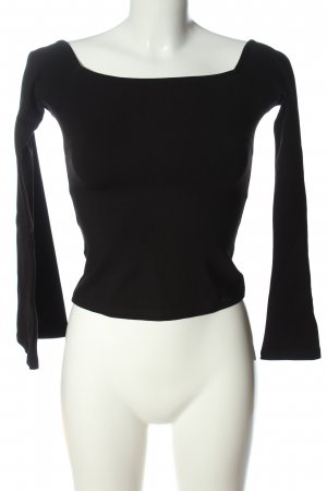Nakd Cropped Top schwarz Casual-Look