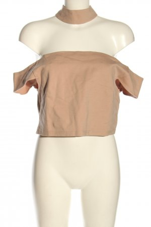 Nakd Cropped Top nude Casual-Look