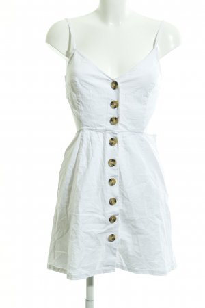 Nakd Vestido cut out blanco look casual