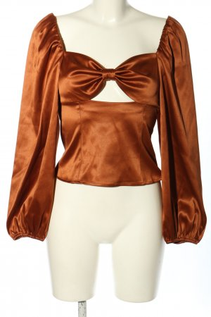 Nakd Blusa brillante arancione chiaro elegante