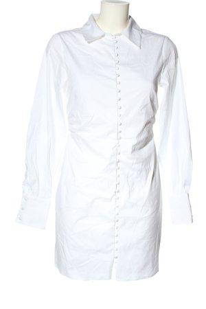Nakd Abito blusa camicia bianco stile professionale