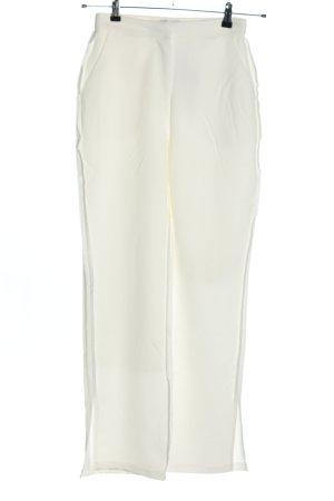 Nakd Pantalón de cintura alta blanco estampado a rayas look casual