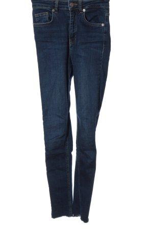 Nakd Jeans a vita alta blu stile casual