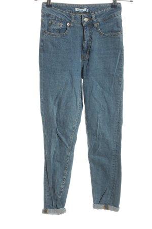 Nakd High Waist Jeans blau Casual-Look