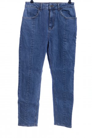 Nakd High Waist Jeans blau meliert Casual-Look