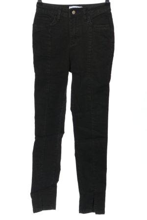 Nakd High Waist Jeans schwarz Casual-Look