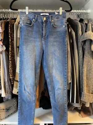 Nakd High Waist Jeans pale blue-light blue