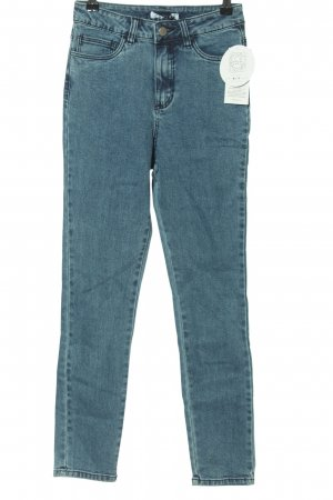 Nakd High Waist Jeans blau Casual-Look