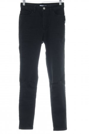 Nakd High Waist Jeans taupe Casual-Look