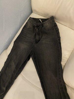Nakd Jeans a vita alta antracite