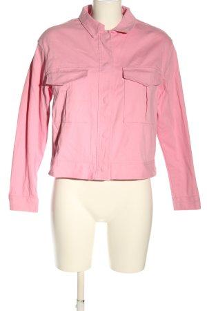 Nakd Veste en jean rose style décontracté