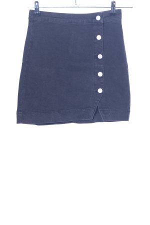 Nakd Jeansrock blau Casual-Look