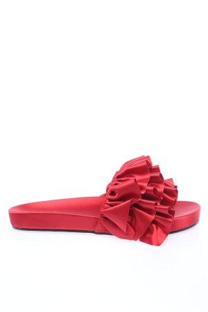 Nakd Sandały plażowe czerwony Elegancki