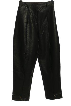 Nakd Pantalón de efecto piel negro look casual