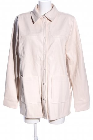 Nakd Faux Leather Jacket cream casual look