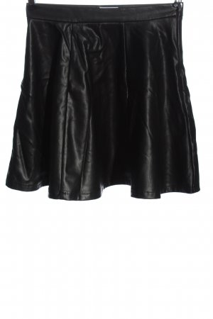 Nakd Faux Leather Skirt black casual look