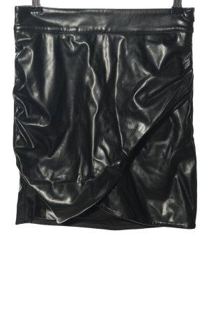 """Nakd Faux Leather Skirt """"Selma Omari x NA-KD"""" black"""