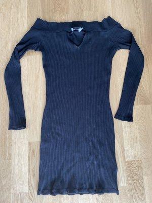 Nakd langarm Offshoulder Kleid L