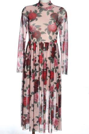 Nakd Longsleeve Dress allover print elegant
