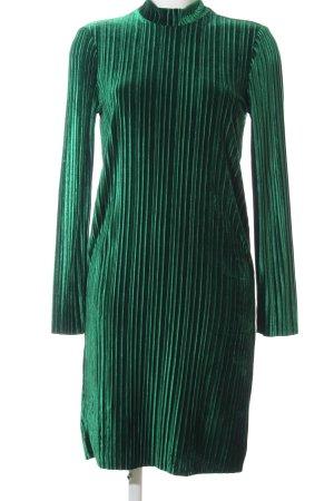 Nakd Langarmkleid grün Streifenmuster Elegant