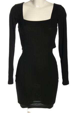 Nakd Langarmkleid schwarz Elegant