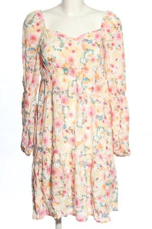 Nakd Longsleeve Dress flower pattern casual look