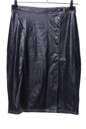 Nakd Lederrock schwarz Elegant