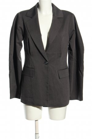 Nakd Long-Blazer hellgrau meliert Business-Look