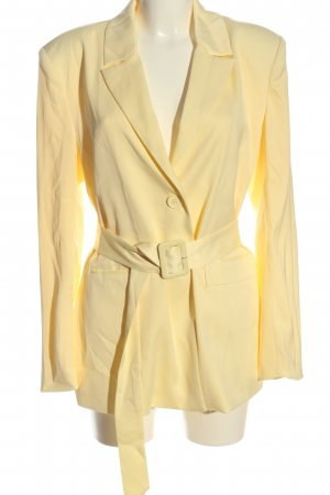 Nakd Long-Blazer creme Business-Look