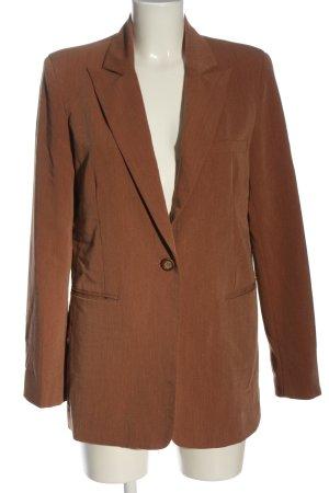 Nakd Long-Blazer braun Business-Look