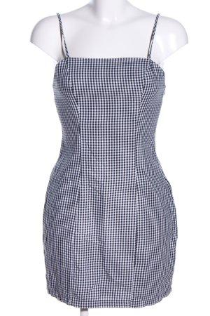 Nakd Minikleid schwarz-weiß Allover-Druck Casual-Look