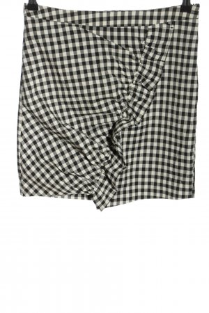 Nakd Miniskirt black-white check pattern casual look