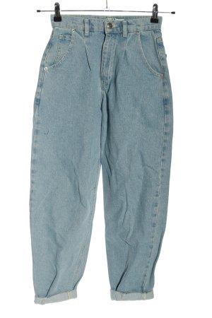 Nakd Mom-Jeans blau Casual-Look